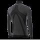 TS13 Maglietta intima lupetto con zip a manica lunga