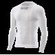 SIX2 Girocollo maniche lunghe Carbon Underwear