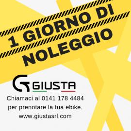 NOLEGGIO E-BIKE 1 GIORNO
