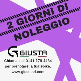 NOLEGGIO E-BIKE 2 GIORNI