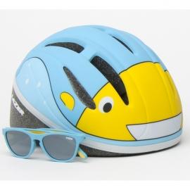 Lazer Casco Bob Matte Blue w/Blub Eyewear